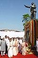 Pratibha Devisingh Patil, the Vice President, Shri Mohd. Hamid Ansari, the Speaker, Lok Sabha, Smt. Meira Kumar, the Chairperson, UPA and National Advisory Council, Smt. Sonia Gandhi, the Chief Minister of Delhi.jpg