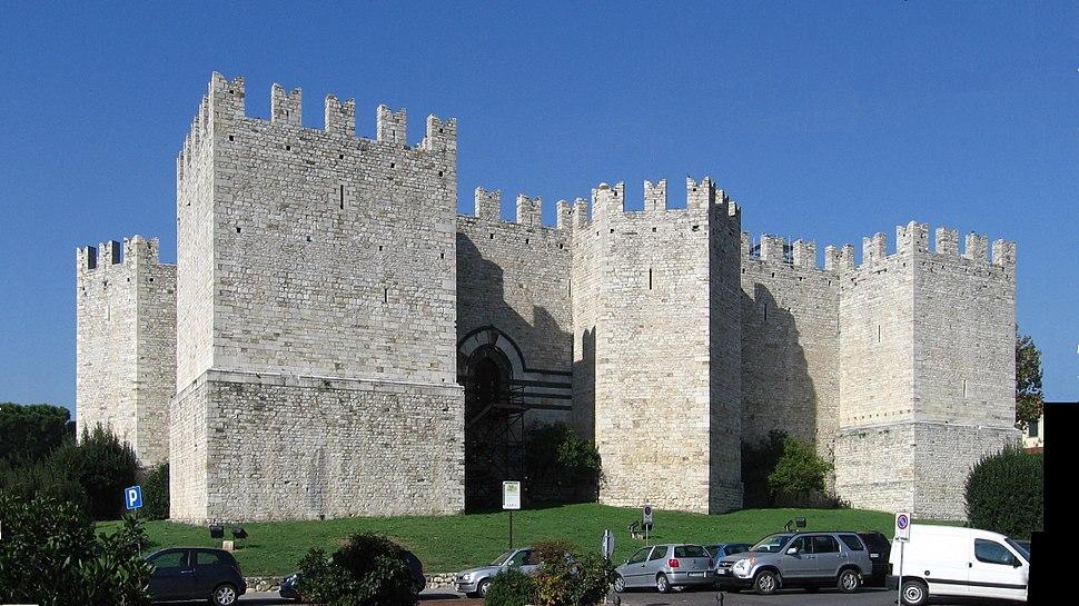 Prato, Castello dell'imperatore, da S-E