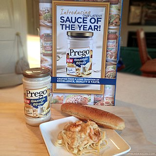 Prego trade mark brand name pasta sauce