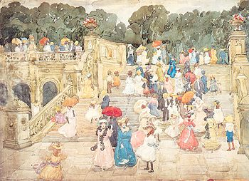 Prendergast Maurice The Mall Central Park 1901.jpg