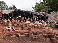 Preparing Kitchen utensils made of wood in Bondoukou in Côte d'Ivoire (1).JPG