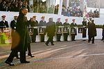 President Barack Obama walks in 57th Presidential Inaugural Parade 130121-Z-QU230-202.jpg