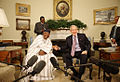 President Bush Meets with Mali President Amadou Touré.jpg