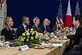 President Obama and Secretary Clinton Meet Japan's Prime Minister Noda (8201750059).jpg