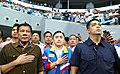President Rodrigo R. Duterte at the Mall of Asia Arena 1.jpg
