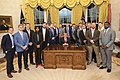 President Trump Welcomes the Clemson Tigers to the White House (46756920201).jpg