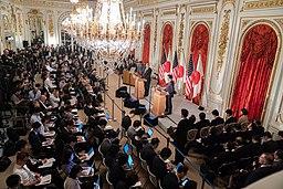 President Trump at the Akasaka Palace (47945562051)
