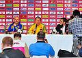Pressekonferenz nach dem Fußballländerspiel Österreich-Ukraine (01.06.2012).jpg