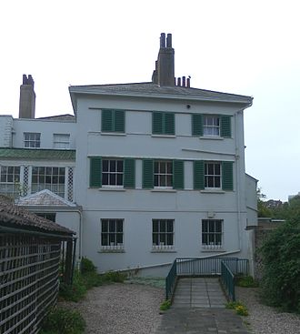Preston Manor, Brighton - The west wing was added in 1905.