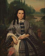 Retrato de la Señora Elvira Lavalleja de Calzadilla