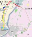 Primeros kilómetros de la cuarta etapa del Giro por la Hermandad 2014.png