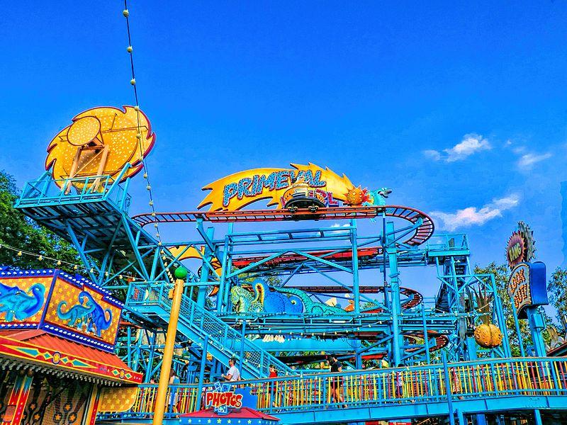 Montanha-russa do parque Disney's Animal Kingdom