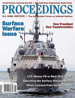 Proceedings (magazine) - January 2009 cover