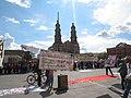 Protesta en favor de los profesores de Oaxaca, en la plaza principal de Aguascalientes (junio, 2016) 26.jpg