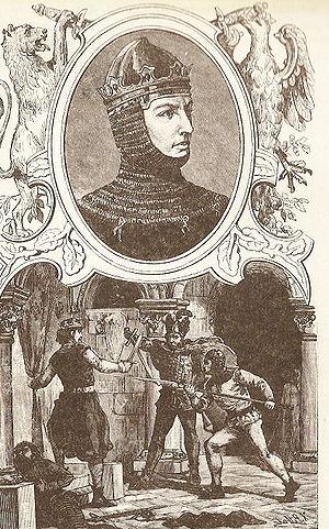 Przemysł II - Modern depiction of Przemysł II from a historical book by Józef Ignacy Kraszewski, 1888