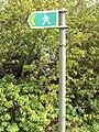 Public footpath, Gwernymynydd 4.JPG