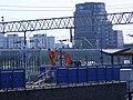 Pudding Mill Lane DLR station demolition.jpg