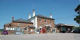 Pulborough RailStation Front.JPG