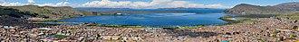 Puno - Titicaca lake.