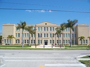 Charlotte High School (Punta Gorda, Florida) - Main building