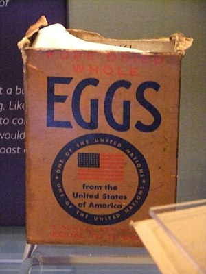 Powdered eggs - Pure dried whole eggs from the U.S.