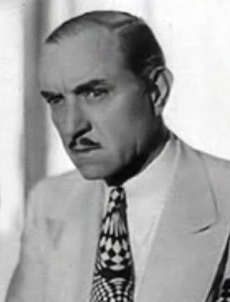 Purnell Pratt - Pratt in the trailer for The Casino Murder Case, 1935