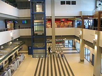 Katowice International Airport - Inside Terminal B