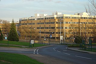 Hospital in Nottingham, England