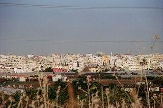 Qalqilya City in Qalqilya Governorate