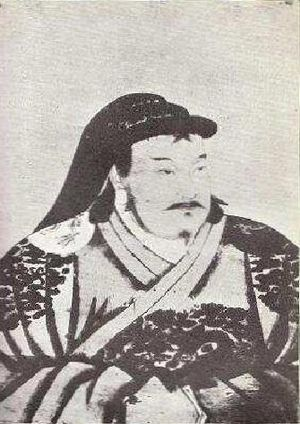 Kublai Khan - Portrait of young Kublai by Anige, a Nepali artist in Kublai's court