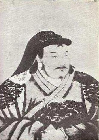 Emperor of China - Portrait of young Kublai Khan by Anige, a Nepali artist in Kublai's court