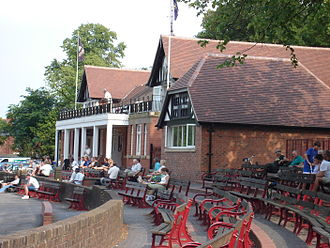 Queen's Park, Chesterfield - The pavilion