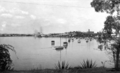 Queensland State Archives 9 Brisbane River looking from Newstead Park Breakfast Creek Road Newstead towards New Farm Brisbane October 1926.png