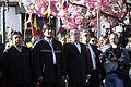 Quito, Ceremonia de ofrenda floral en honor de los Héroes de la Independencia. (9353254164).jpg