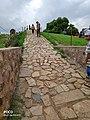 Qutub minar walking path.jpg