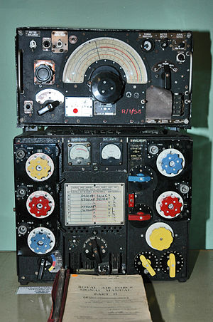Aviation communication - The R1155/T1154 combination used by the RAF in WWII