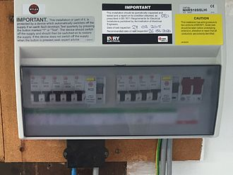 Consumer unit - RCD Protection Consumer Dual Split-Load
