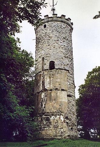 Eltmann - Wallburg tower
