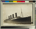 RMS Lusitania coming into port, possibly in New York, 1907-13.png