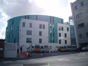 Royal Victoria Infirmary - Image: RVI Newcastle New Victoria Wing
