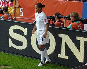 Rachel Yankey - Yankey in the 2011 FIFA Women's World Cup