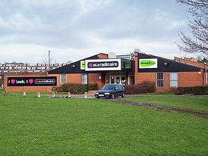 Radio Aire 2 - Radio Aire 2's studios, shared with Radio Aire in Burley, Leeds.