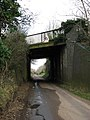 Railway bridge across Mill Road - geograph.org.uk - 671877.jpg