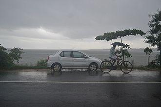 Thanneermukkom - Rainy day at Thanneermukkam
