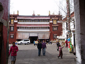 Ramoche Temple - Entrance to Ramoche Temple