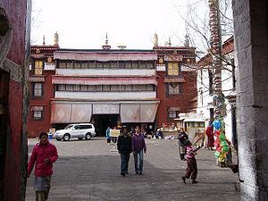 Ramoche Temple - Entrance to Ramoche Temple