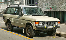 The First Generation Range Rover Early Two Door Model Ed With Later Alloy Wheels