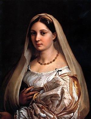 La donna velata ou La Velata est un tableau de Raphaël conservé à la Galerie Palatine du Palais Pitti à Florence
