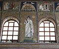 Ravenna, sant'apollinare nuovo, int., santi e profeti, epoca di teodorico 13.JPG