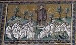 Ravenna, sant'apollinare nuovo, int., storie cristologiche, epoca di teodorico 08.1 orazione nell'orto.jpg